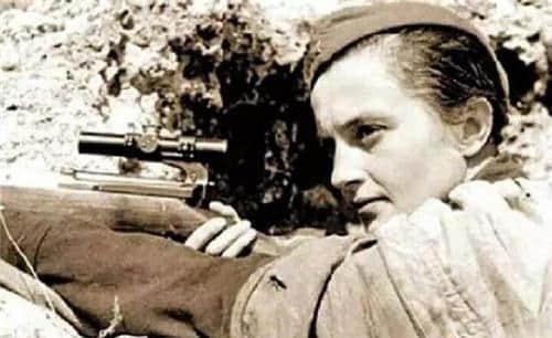 二战女狙击手001